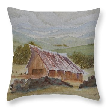North Of Winnemucca Throw Pillow