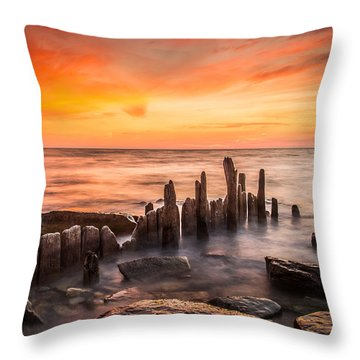 North Point Sky Throw Pillow