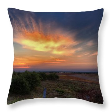 North Refuge Sunrise Throw Pillow