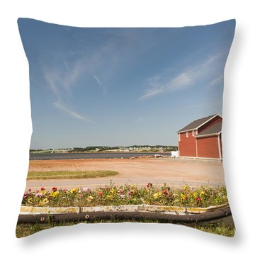 North Rustico Pei Throw Pillow by Elena Elisseeva