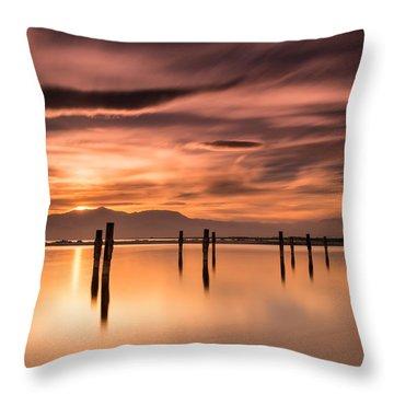 North Shore Throw Pillow by Tassanee Angiolillo