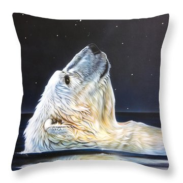 North Star Throw Pillow