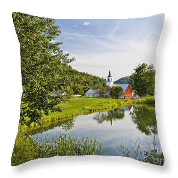 North Tunbridge Summer Throw Pillow