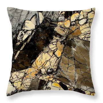 North West Africa 5000 Throw Pillow