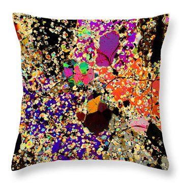 Psycho Babble Throw Pillow