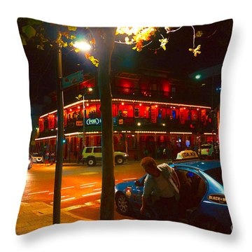Northbridge Night Life Throw Pillow