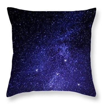 Northern Cross Throw Pillow by Thomas R Fletcher
