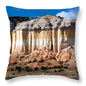 Northern New Mexico Throw Pillow