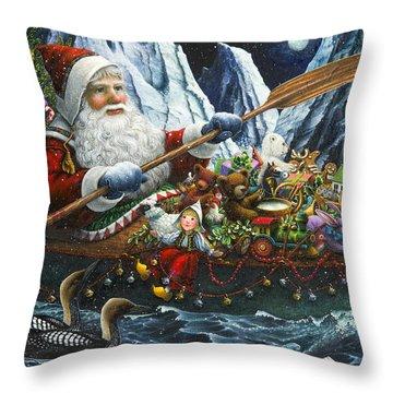 Northern Passage Throw Pillow