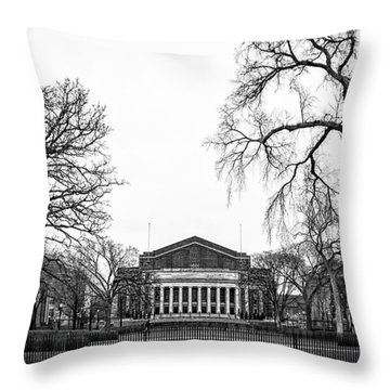 Northrop Auditorium At The University Of Minnesota Throw Pillow by Tom Gort