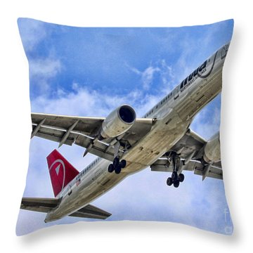Northwest Coming In By Diana Sainz Throw Pillow