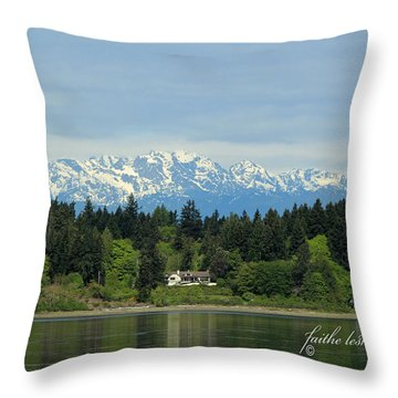 Northwest Living II Throw Pillow