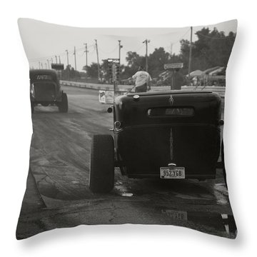 Nostalgia Drags Throw Pillow by Dennis Hedberg