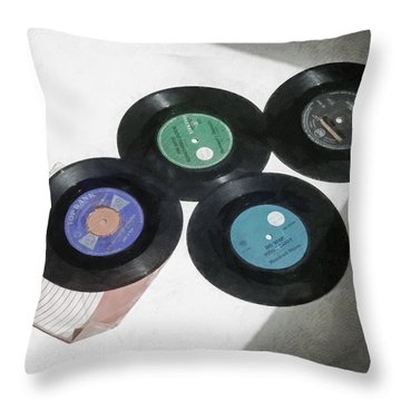Nostalgia Throw Pillow by Steve Taylor