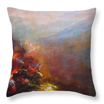 Nostalgic Autumn Throw Pillow