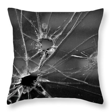 Not A Bullet-proof Throw Pillow