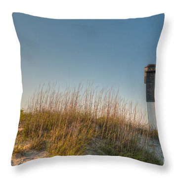Not A Cloud In The Sky Throw Pillow