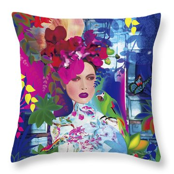 Not Always So Blue - Limited Edition 2 Of 20 Throw Pillow