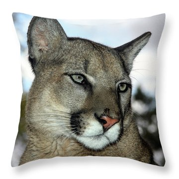 Not Amused  Throw Pillow