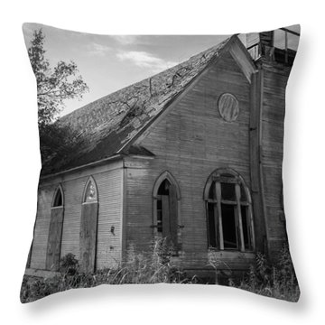 Not Bound By A Building Throw Pillow