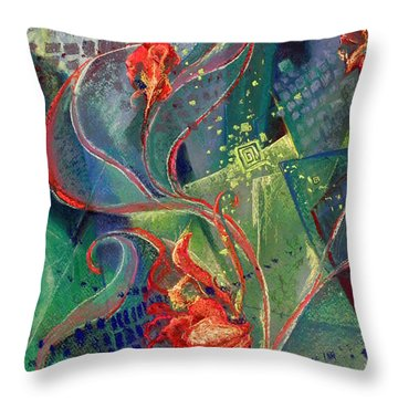Not Destroyed Throw Pillow by Susan Will