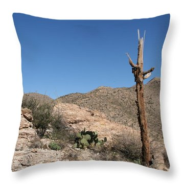 Not Giving Up Yet Throw Pillow