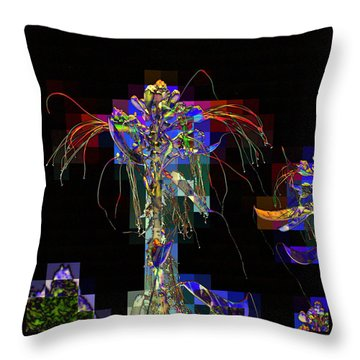 Not In Paradise Throw Pillow by Jodie Marie Anne Richardson Traugott          aka jm-ART
