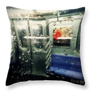 Throw Pillow featuring the photograph Not In Service by James Aiken