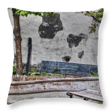Not In Use Throw Pillow