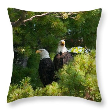 Not Listening Throw Pillow