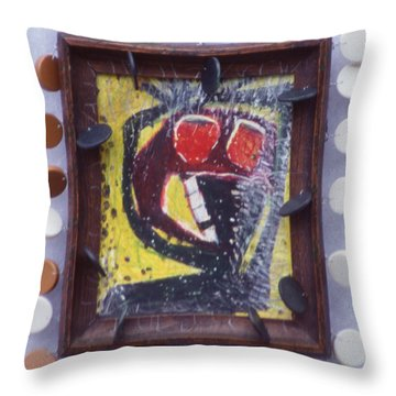 Not Night - Framed Throw Pillow by Nancy Mauerman