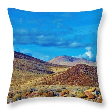 Not Of The Earth Throw Pillow