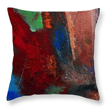 Not Of This World Throw Pillow by Ruth Palmer