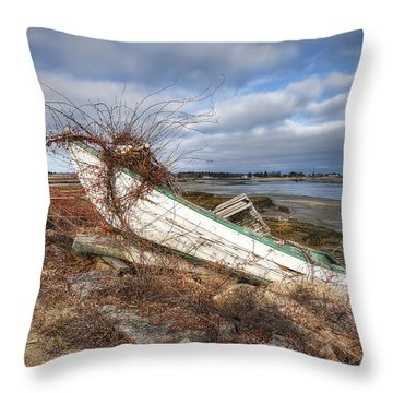 Not Seaworthy Throw Pillow by Eric Gendron