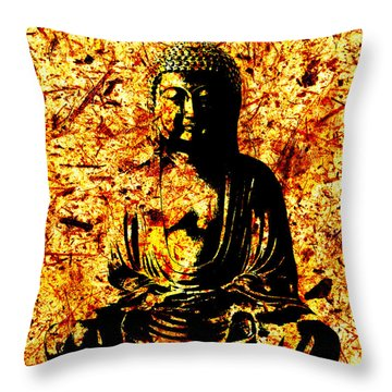 Not Separate From All Things Throw Pillow