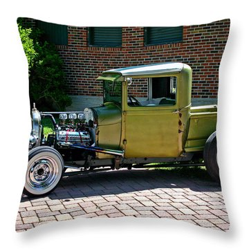 Throw Pillow featuring the photograph Not So Typical Pick-up by Christopher McKenzie