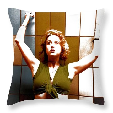 Not The Same Throw Pillow