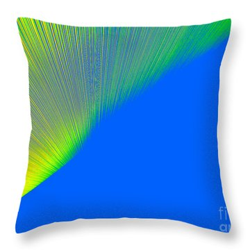 Nothern Lights Throw Pillow by Ausra Huntington nee Paulauskaite