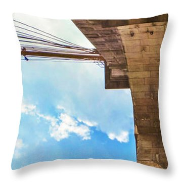 Nothin But Blue Skies Brooklyn Throw Pillow