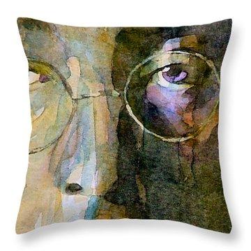 John Lennon Throw Pillows