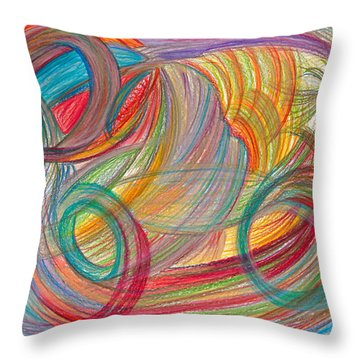 Nothing Stable Throw Pillow
