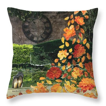 Notice Each Moment Throw Pillow