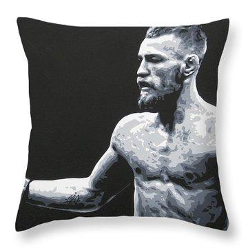 Notorious Throw Pillow