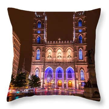 Notre Dame 2 Throw Pillow