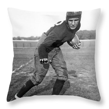 Notre Dame Star Halfback Throw Pillow