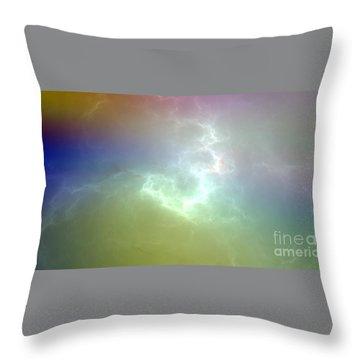 Nova Throw Pillow by Peter R Nicholls