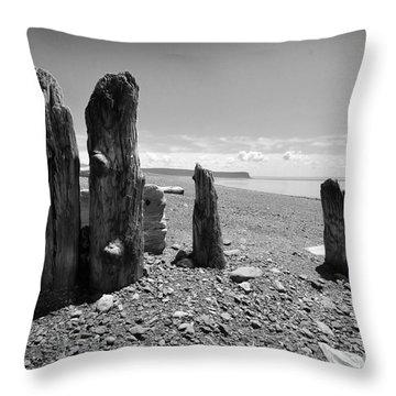 Nova Scotia Throw Pillow by Randi Grace Nilsberg