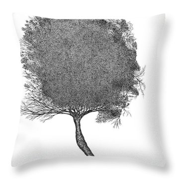 November 2011 Throw Pillow