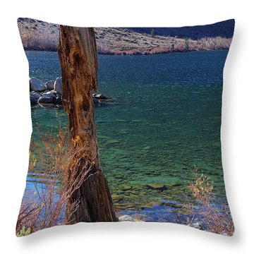 November Convict Lake Throw Pillow