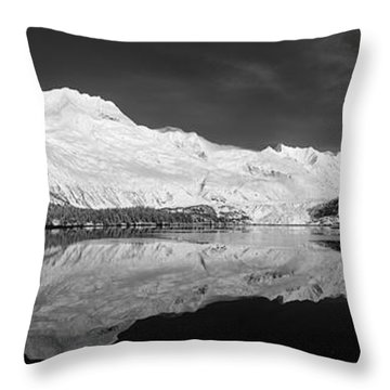 Face North Throw Pillow
